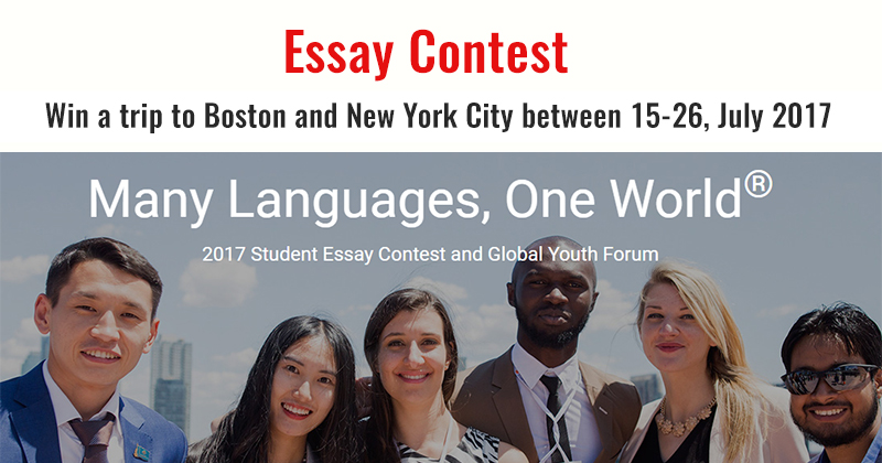 national high school essay contest on the united nations