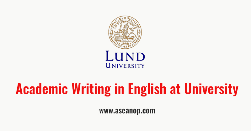English for academic purposes online