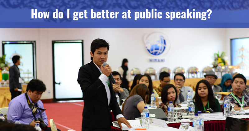 why public speaking is important Public speaking is one of the best ways i know to help you improve your life and  career in addition to  picture the most important person in your life this may.
