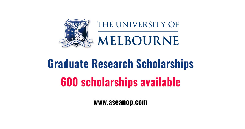 university of melbourne graduate coursework scholarships