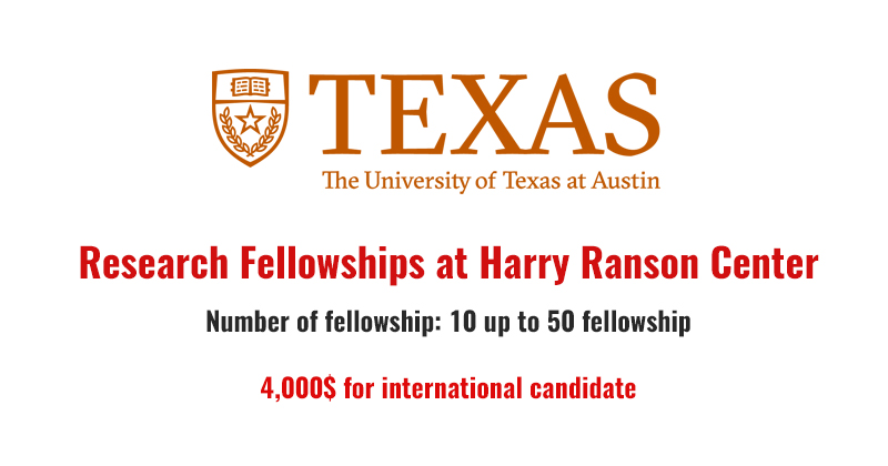 harry ransom dissertation fellowship There are 70 fellowships for research projects requiring substantial on-site use of harry ransom center at the university of texas collections these fellowships will be awarded for research within areas in the humanities, which are including literature, photography, cultural history, performing arts, film, art, and music.