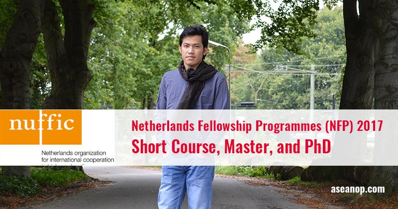 Netherlands Fellowship Programmes (NFP), Netherland 2017 - 2018