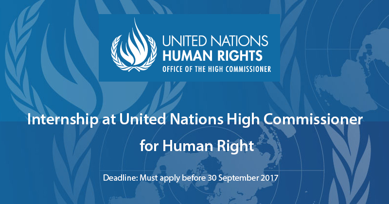Internship at united nations high commissioner for human - Office for the high commissioner for human rights ...