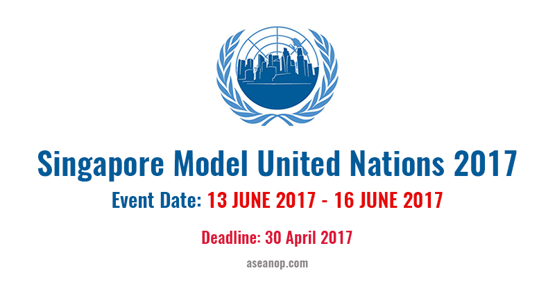 Call for Applications: Singapore Model United Nations 2017