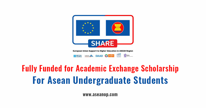 Apply Now For The Share Scholarship Exchange Program For