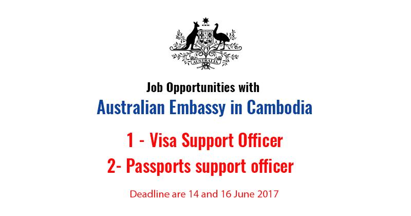 Job Opportunities with Australian Embassy in Cambodia - ASEAN