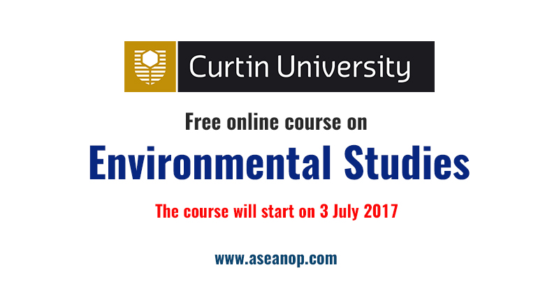 Free online course in Environmental Studies by Curtin University