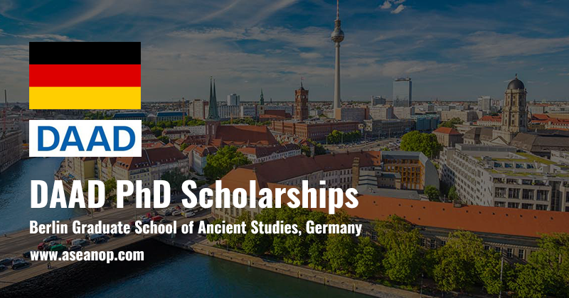 DAAD PhD Scholarships at Berlin Graduate School of Ancient