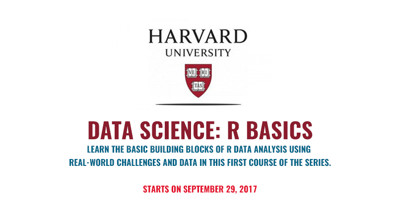 Data Science: R Basics by Harvard University USA (Free Online Course ...