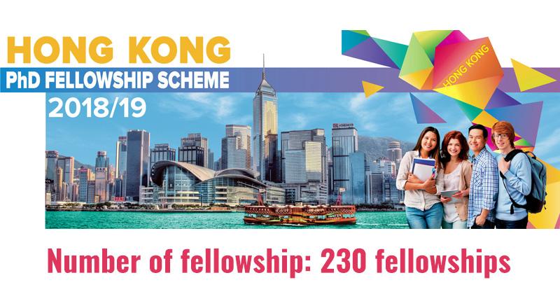 Fully Funded Hong Kong PhD Fellowship Program