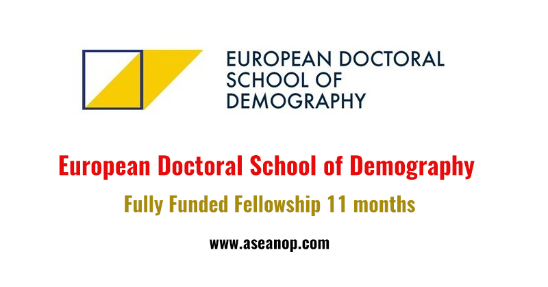 European Doctoral School of Demography Fellowship (Fully