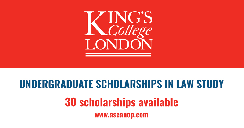 Dickson Poon Undergraduate Law Scholarships 2018 in London