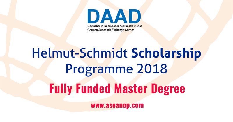 Helmut schmidt programme daad master scholarship in germany asean this programme is aiming at producing a high quality future leaders in politics law environment and administration by proving a number of masters spiritdancerdesigns Images