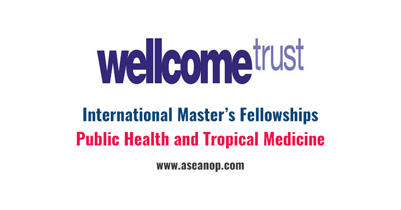 International Master's Fellowships in London, UK - ASEAN