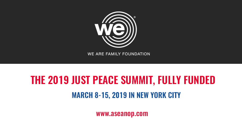 Fully Funded Global Teen Leader Nomination for Just Peace Summit