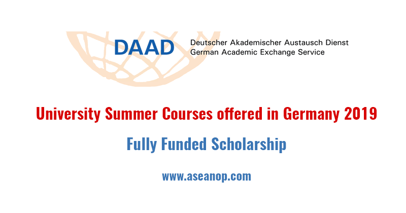 University Summer Courses offered in Germany 2019 (Fully