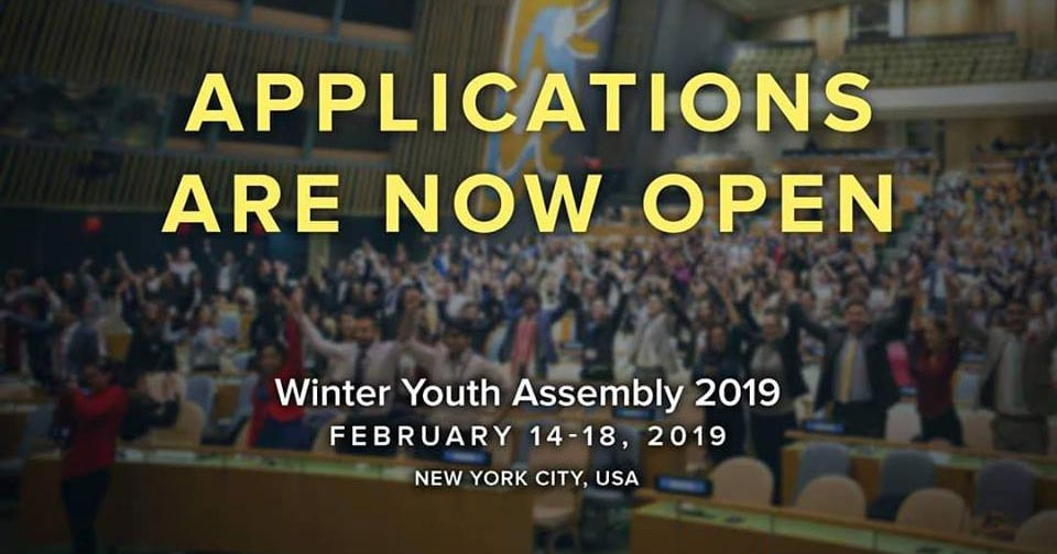 winter youth assembly new york city usa deadline 25. Black Bedroom Furniture Sets. Home Design Ideas