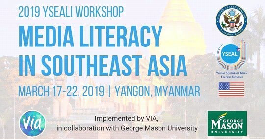 Fully Funded] YSEALI WORKSHOP ON MEDIA LITERACY IN SOUTHEAST