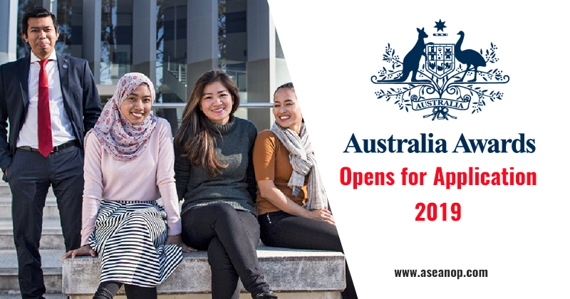 Australia Awards 2019 Opens for Applications [Fully Funded] - ASEAN