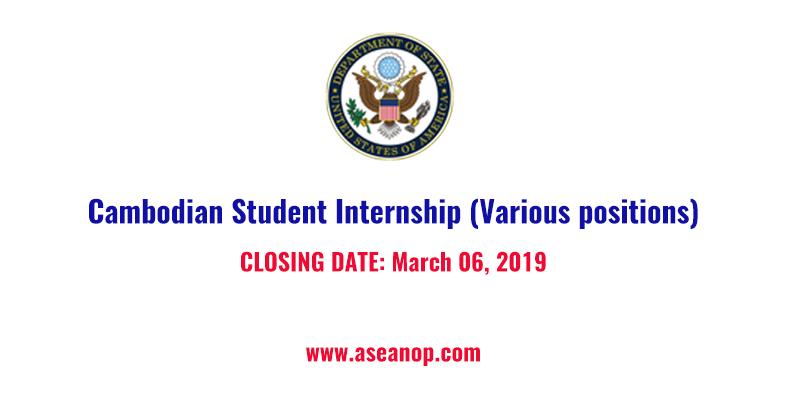 Internship Archives - ASEAN Scholarship Information