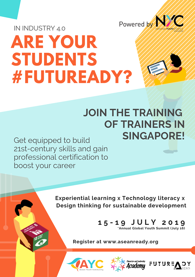 AseanReady bootcamp for 21st-century educators in Singapore