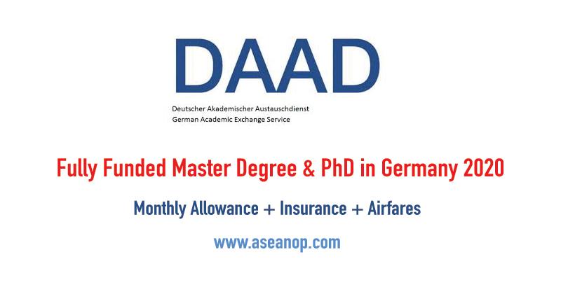 Fully Funded Graduate Scholarship Program in Germany 2020 - ASEAN