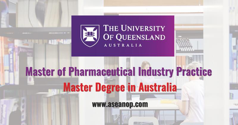 Master Of Pharmaceutical Industry Practice International Student Scholarship Asean Scholarships