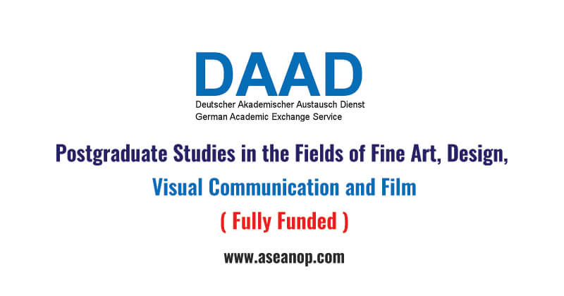 Postgraduate Studies in the Fields of Fine Art, Design