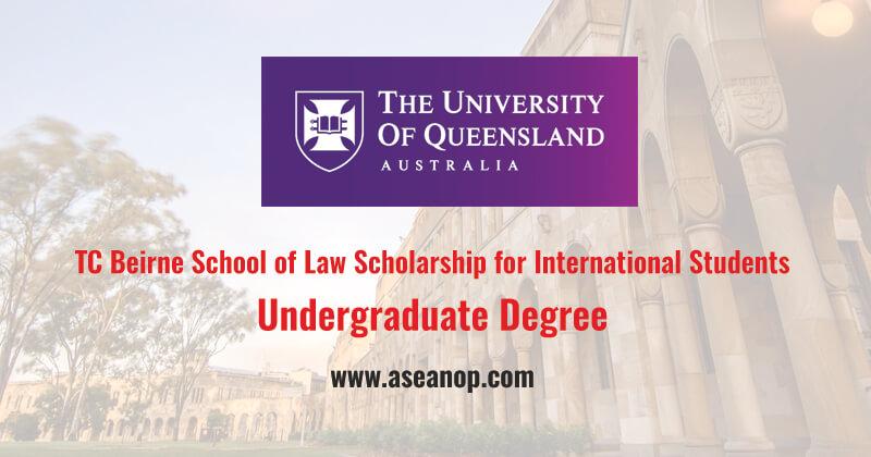 TC Beirne School of Law Scholarship for International ...