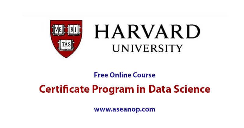 harvard science university certificate basics