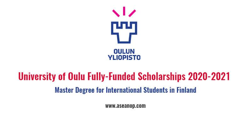 University of Oulu Fully-Funded Scholarships for ...