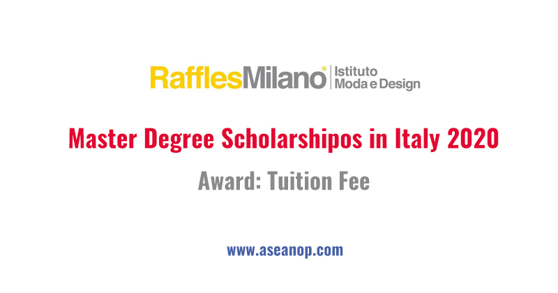 15 Master Awards For Product Design And Fashion Design Study In Italy 2020 Asean Scholarships
