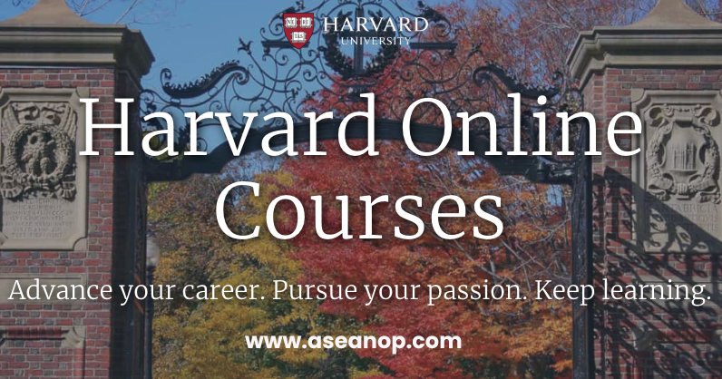 free online courses offered by harvard university