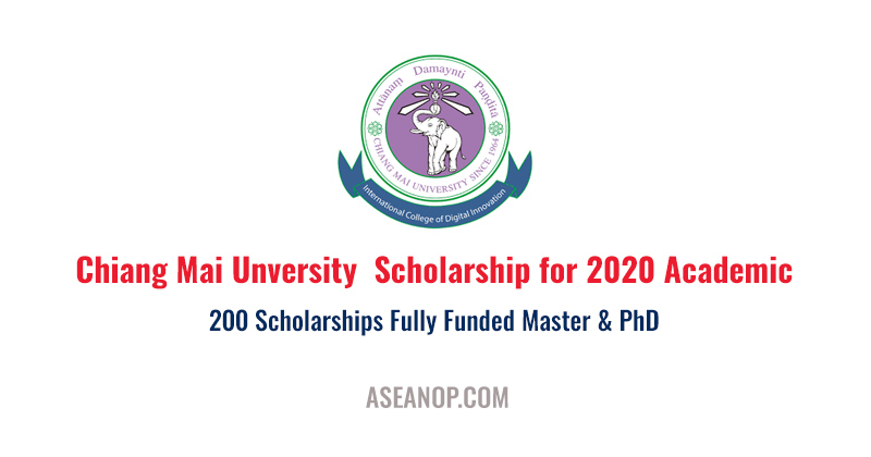 Chiang Mai Unversity  Scholarship for 2020 Academic