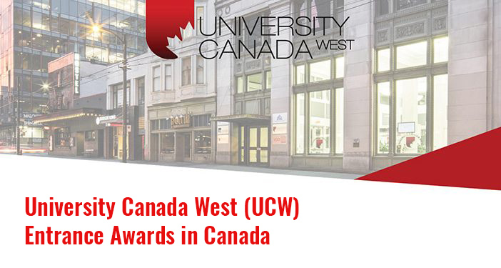 University Canada West (UCW) Entrance Awards in Canada