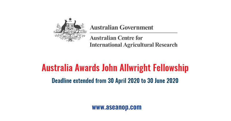Australia Awards John Allwright Fellowship 2021