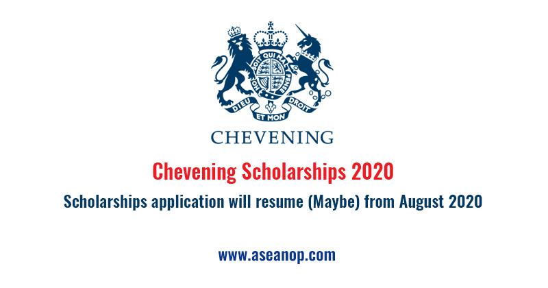 Chevening Scholarships 2020