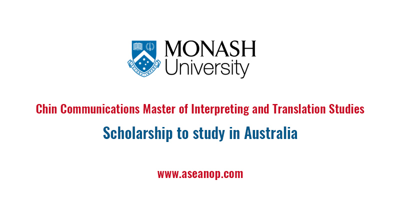Chin Communications Master of Interpreting and Translation Studies Scholarship