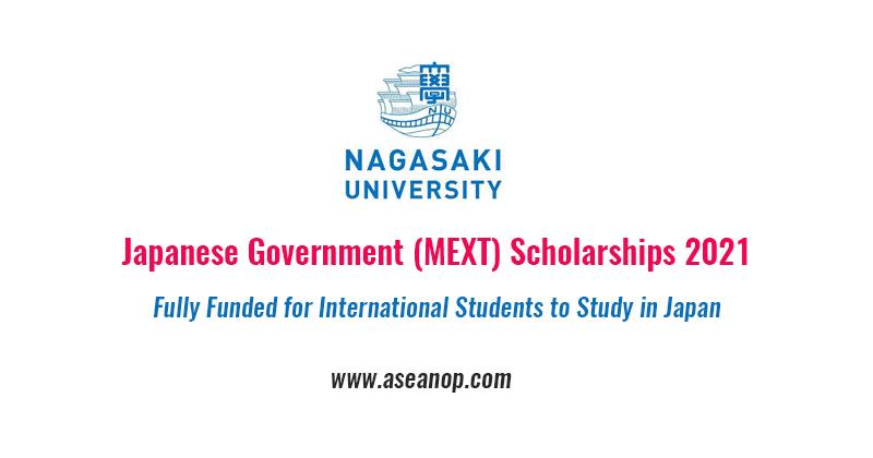 Nagasaki university - Japanese Government (MEXT) Scholarships