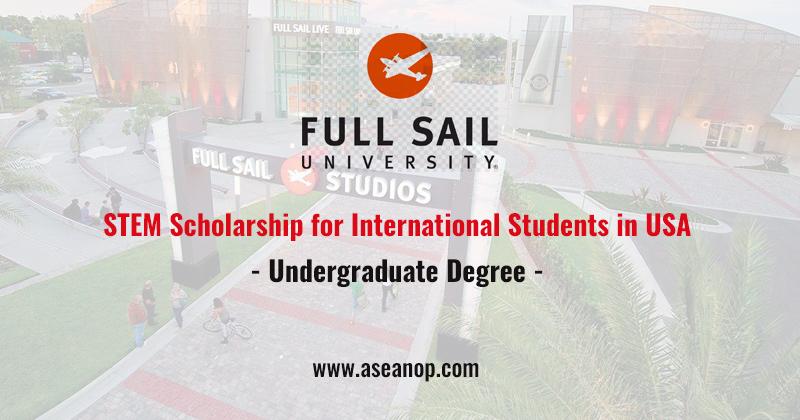 STEM Scholarship for International Students at Full Sail ...