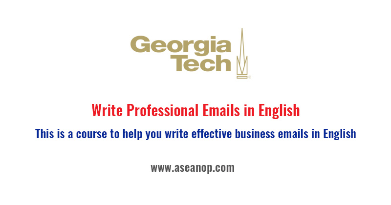 Write Professional Emails in English