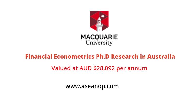 Financial Econometrics Ph.D Research in Australia