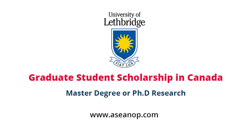 Board of Governors Graduate Student Research Scholarship in Canada