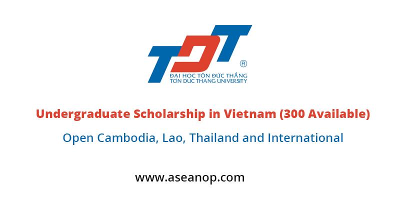 Ton Duc Thang University Undergraduate Scholarship in Vietnam