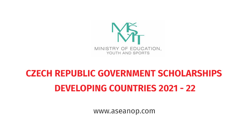 CZECH REPUBLIC GOVERNMENT SCHOLARSHIPS FOR DEVELOPING COUNTRIES 2021