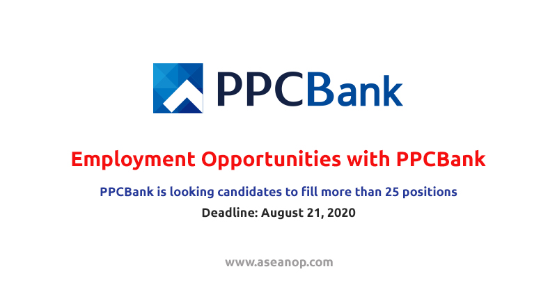 Employment Opportunities with PPCBank