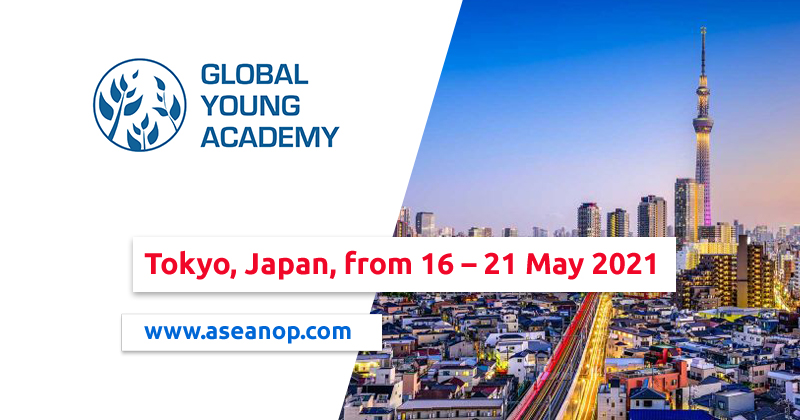 2021 International Conference of Young Scientists in Tokyo, Japan