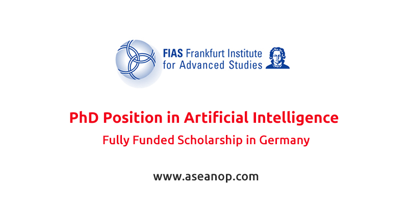 Fully-Funded PhD Position in Artificial Intelligence