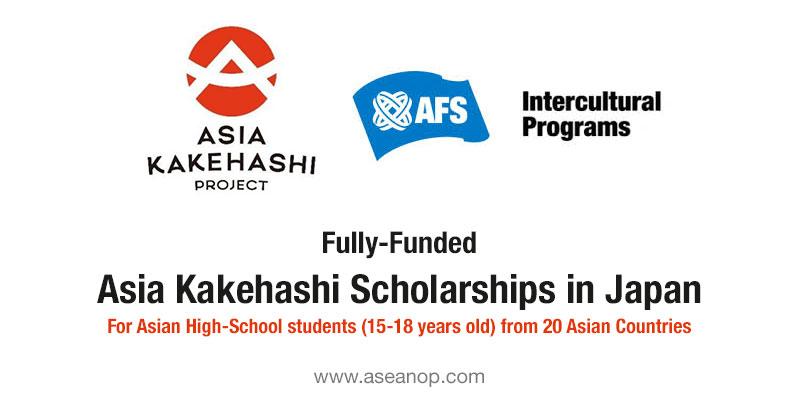 High-School Students: Asia Kakehashi program in Japan 2021 ...