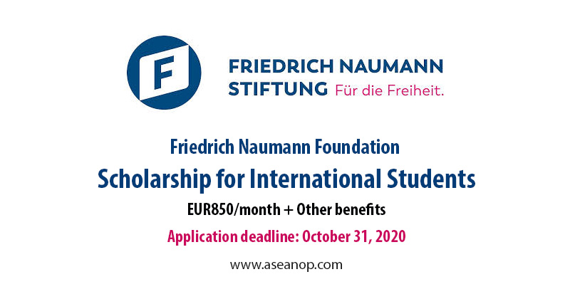 Friedrich Naumann Foundation International Scholarships
